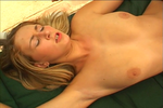 Blonde Wants Anal Outside